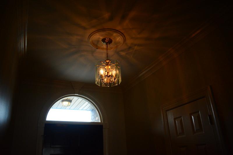 UGLY FOYER LIGHT