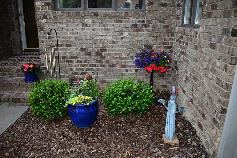 FRONT COURTYARD FLOWERS