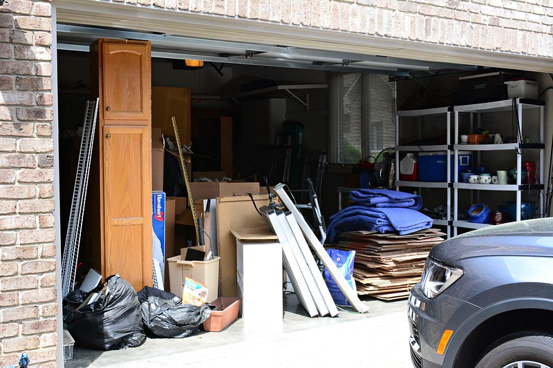 ANOTHER VIEW OF THE GARAGE MESS