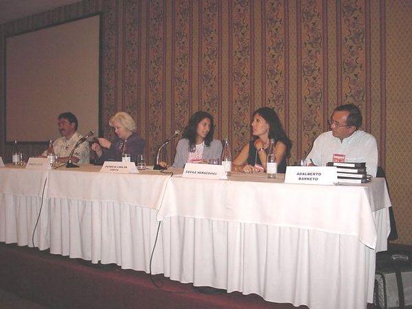 panel 3 Francisco A -  Sandra -  Patricia - Cecile - Adalber