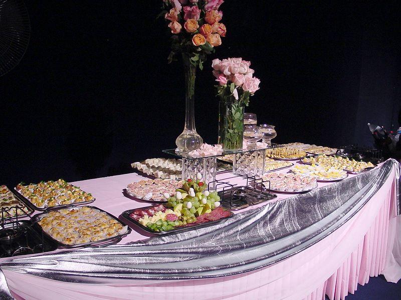 1st night festivities - food