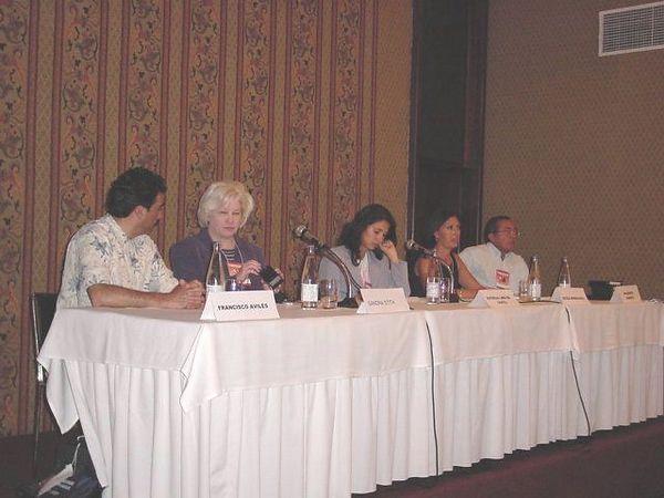 panel 1 Francisco A -  Sandra -  Patricia - Cecile - Adalber