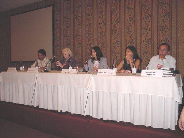 panel 2 Francisco A -  Sandra -  Patricia - Cecile - Adalber