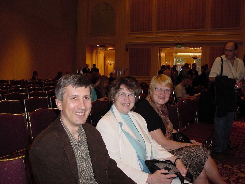 Audience - G Keleman, R Rinne, and S Arhovaara