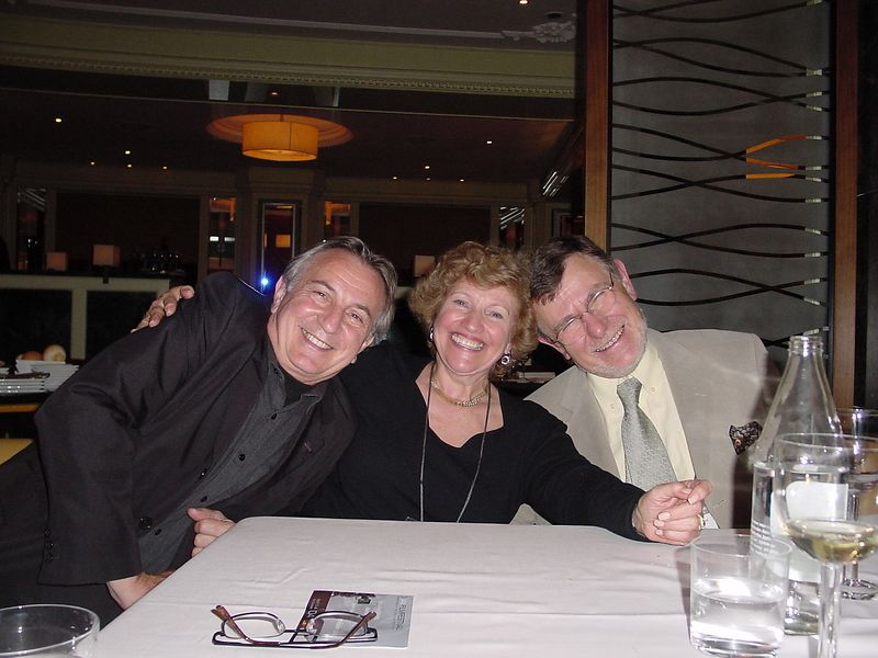 dinner - Judith, Chuck, Arnon