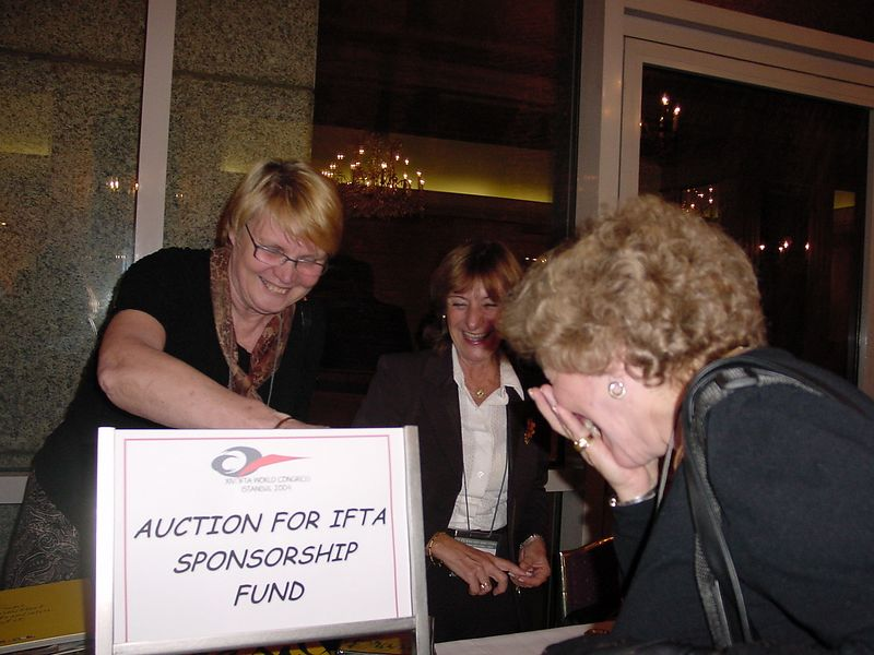 IFTA Auction Riali showing special items