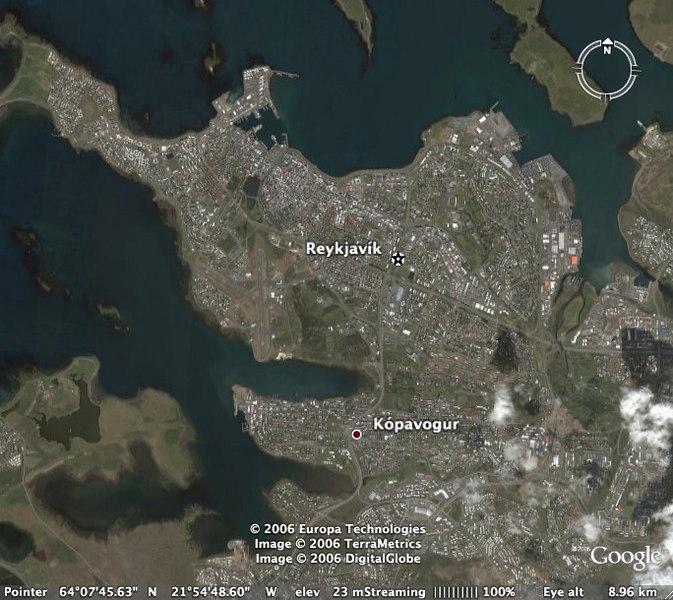 Reykjavik and vacinity