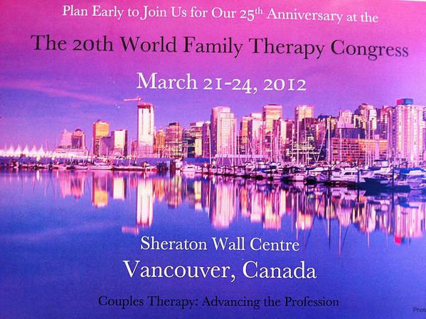 2012 - 25th Anniversary IFTA Congress - Vancouver