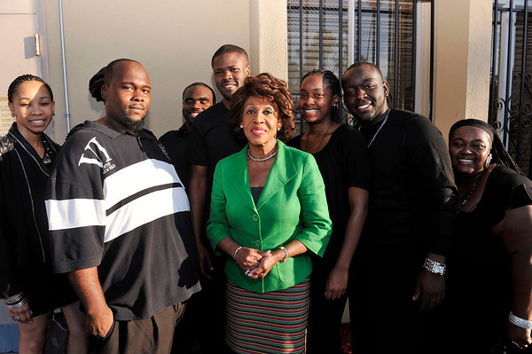 Celebration of the life, legacy and values of Nelson Mandela at First A.M.E. Church in Los Angeles California Hosted by the Los Angeles Save Africa Movement Hosted by Congresswoman Maxine Waters. Valerie Goodloe