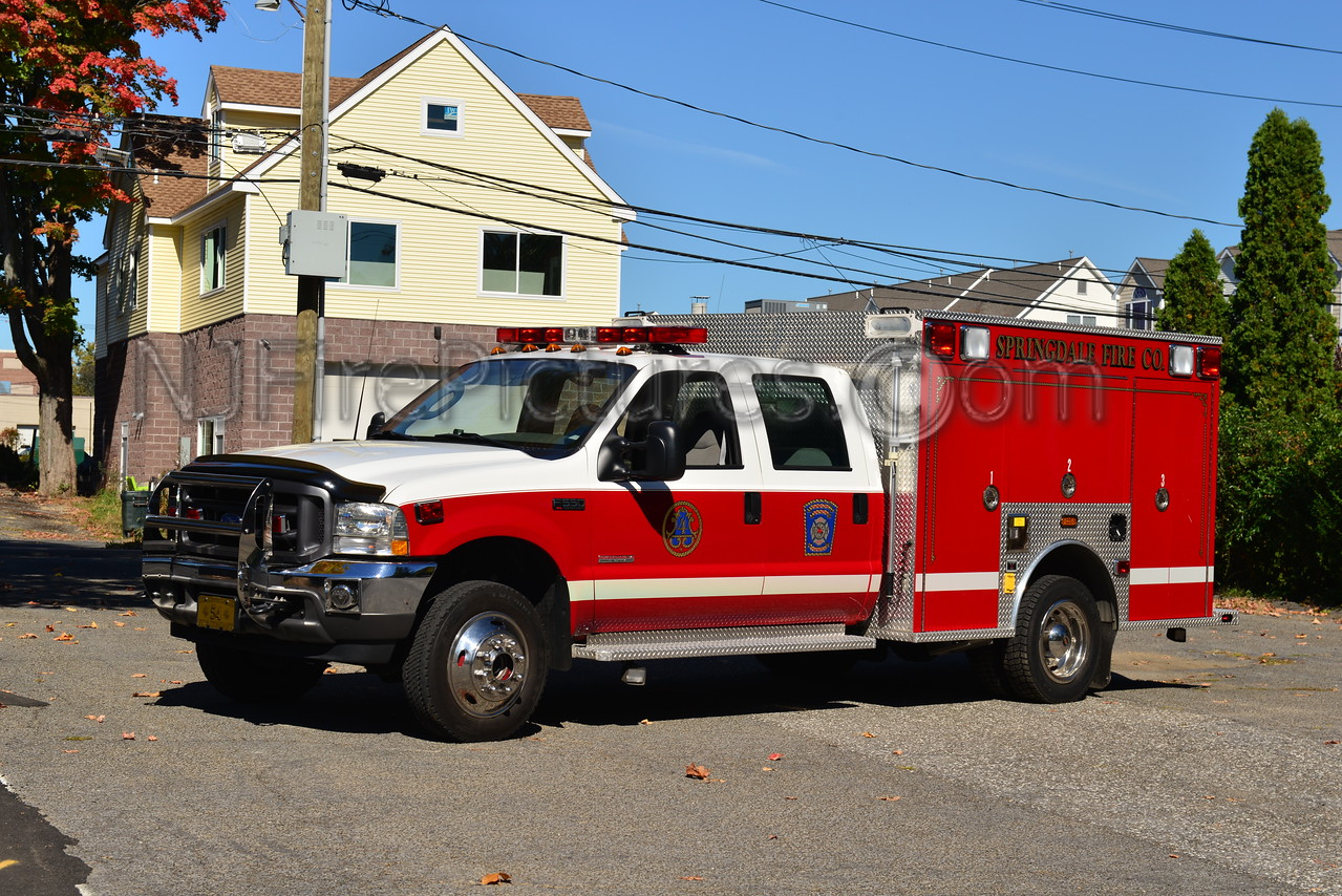 STAMFORD, CT SPRINGDALE FIRE CO. RESCUE 54