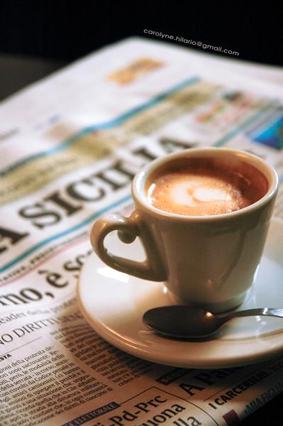 Espresso Break<br /> Sicily, Italy