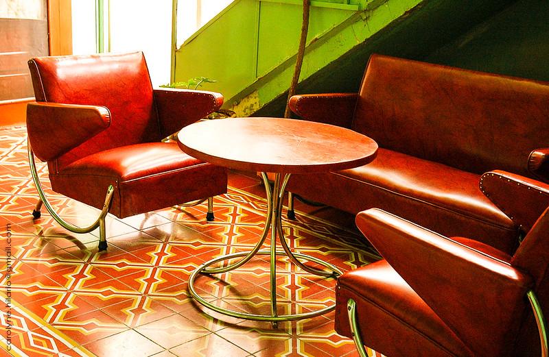 Hotel Lobby<br /> Hidalgo del Parral, Mexico
