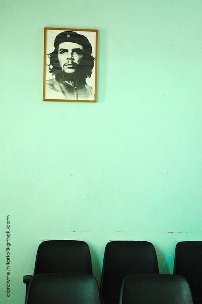 Ché at Bus Station<br /> Trinidad, Cuba