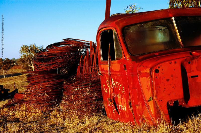 Abandoned Truck<br /> Barossa Valley, Australia