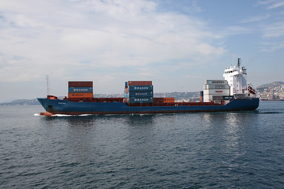 2010 - M/S KIRSTEN sailing from Napoli.