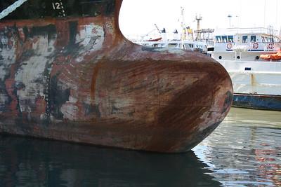 2008 - M/S MSC NATALIA docked in Napoli for works.