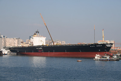 2008 - M/S MSC NATALIA docked in Napoli for works, repainting.