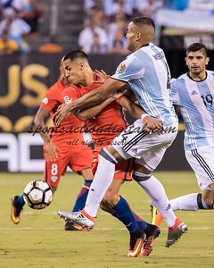 Alexis Sanchez, Gabriel Mercado