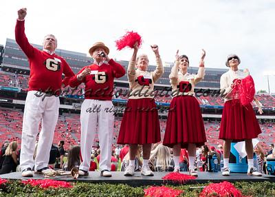 Georgia alumni cheerleaders