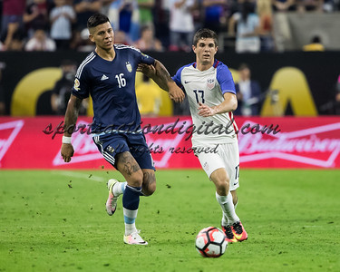 Christian Pulisic, Marcos Rojo