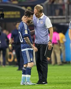 Lionel Messi, Jurgen Klinsman