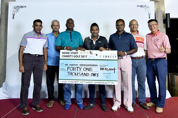HOME START CHARITY GOLF FOR S.MURTHY