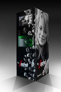 Reclamefotografie   Koffiemachine Fabrikant Segafredo Coffee Machine