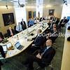 Management team meeting at Ericsson HQ, in Kista, Stockholm, Sweden