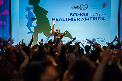 Run DMC at Partnership for a Healthier America