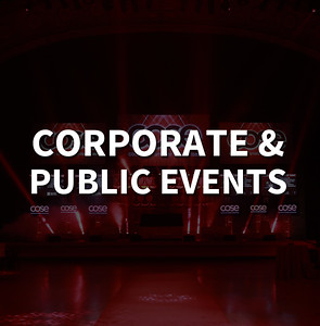 CORPORATE & PUBLIC EVENTS