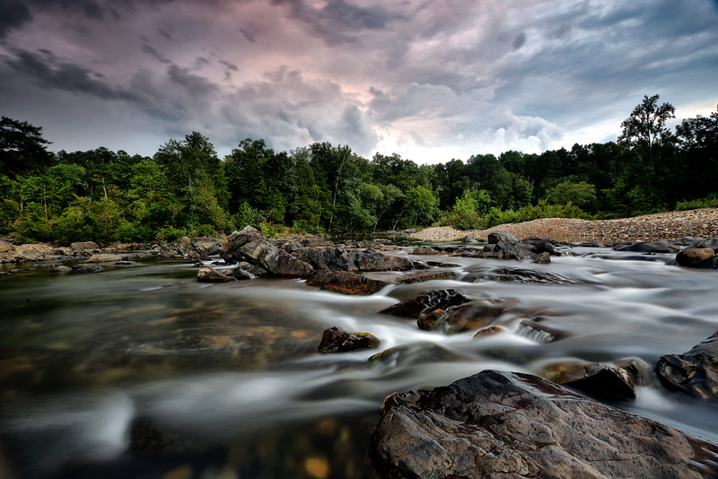 Storm Over the Cossatot - Cossatot State Park - Sept 14, 2016