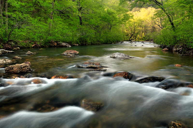 River of Light - Cossatot River