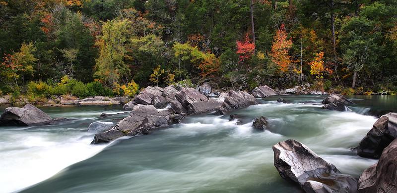Cossatot Falls - Cossatot Falls State Park - Fall 2013