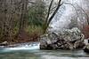 Cossatot River in Ice  - Cossatot State Park
