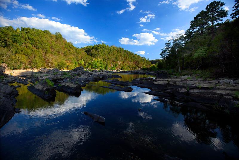 Cloud Reflections - Cossatot Falls State Park