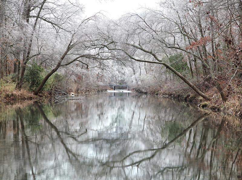 Winter Farewels -  Cossatot River - Ouachitas of Arkansas - Winter 2013