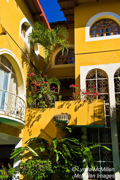 Granada, Nicaragua is a UNESCO site.  Founded in 1524 it is the oldest colonial town in Central America.