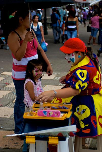 Plaza de la Cultura on Mother's Day, August 15