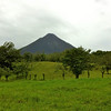 Arenal Volcano Following Explosion