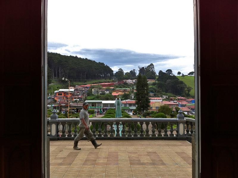 Zarcero from Iglesia de Zarcero