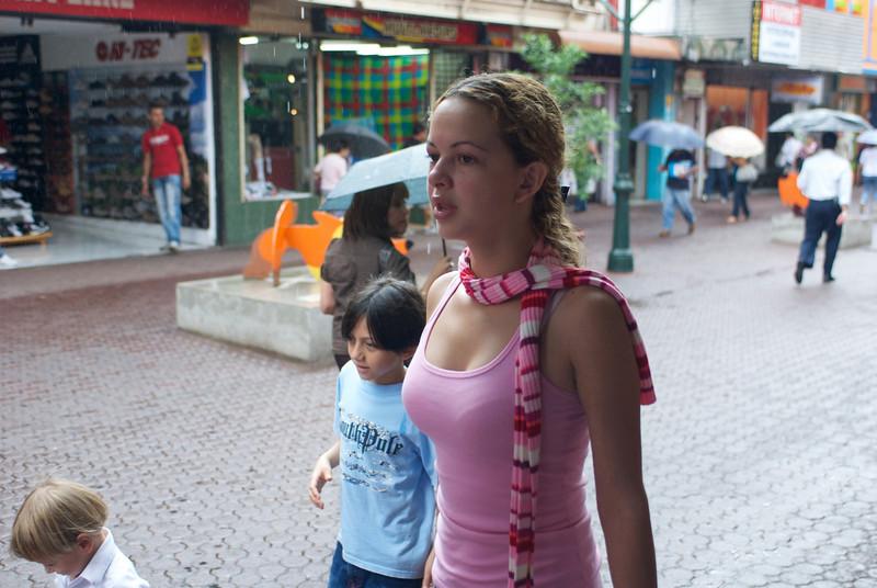 Shopper at Mercado Central