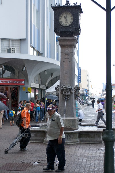 Avenida Central Fountain