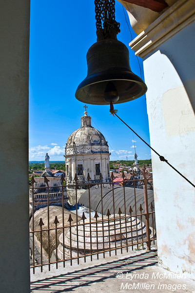 From the bell tower of La Merced Church, Our Lady of Mercy.