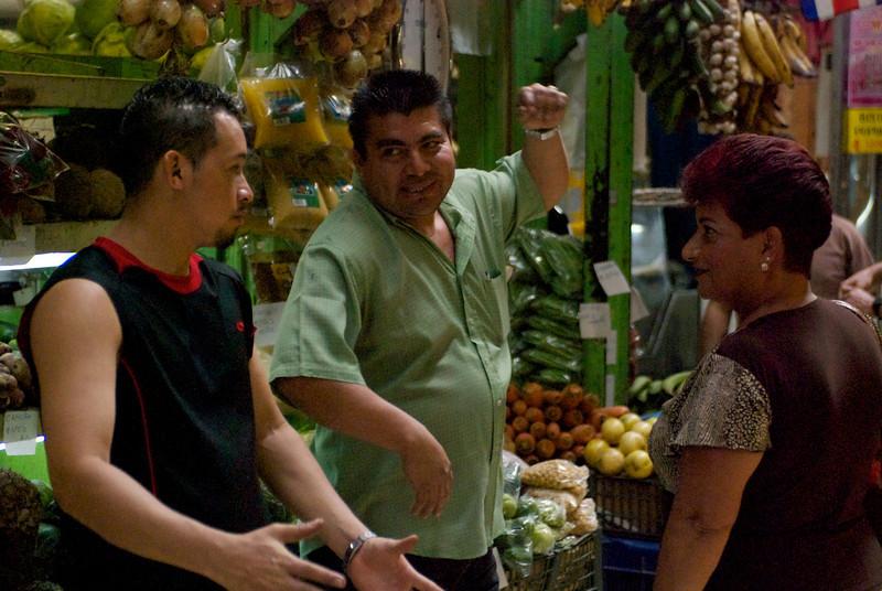 Vendors, Mercado Central