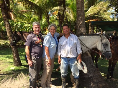 Our new friend and the owner of riding business –Diego.