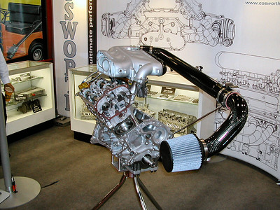 Cosworth Intake for Nissan V6