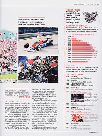 RACER Parnelli Cosworth DFX Article Sept 2017