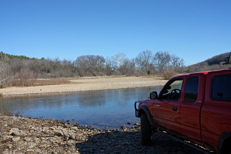 Buffalo River (Woolum) crossing - 1
