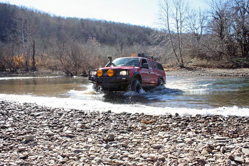 Buffalo River (Woolum) crossing - 22
