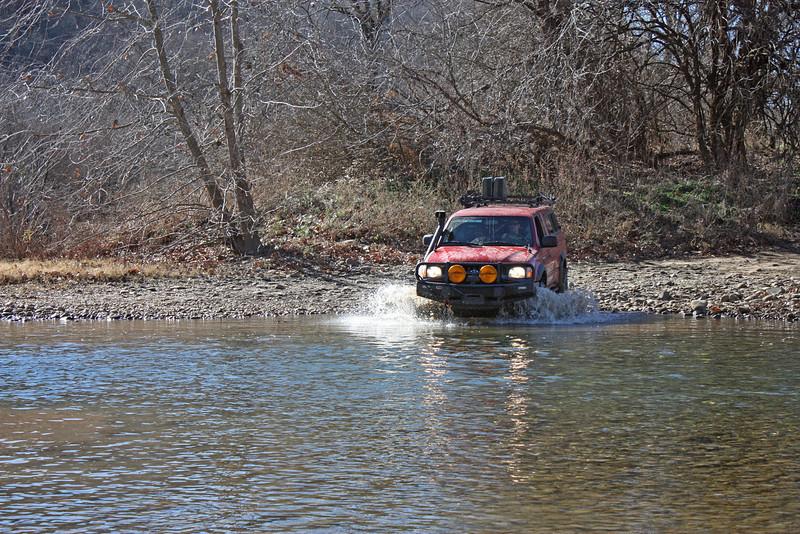 Buffalo River (Woolum) crossing - 6
